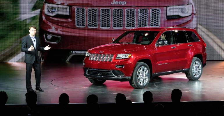 Manley introduces dieselpowered Grand Cherokee at Detroit auto show