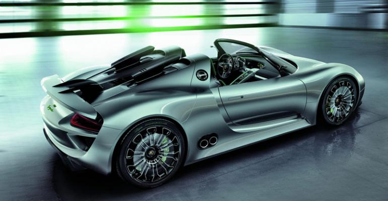 Exotic 918 Spyder hits US in late 2013
