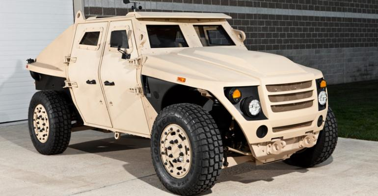 Military FED concept vehicle is aluminumintensive