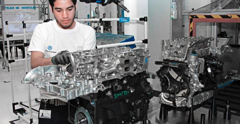 Silao can build 330000 engines but second phase eyed could expand output to 500000 annually