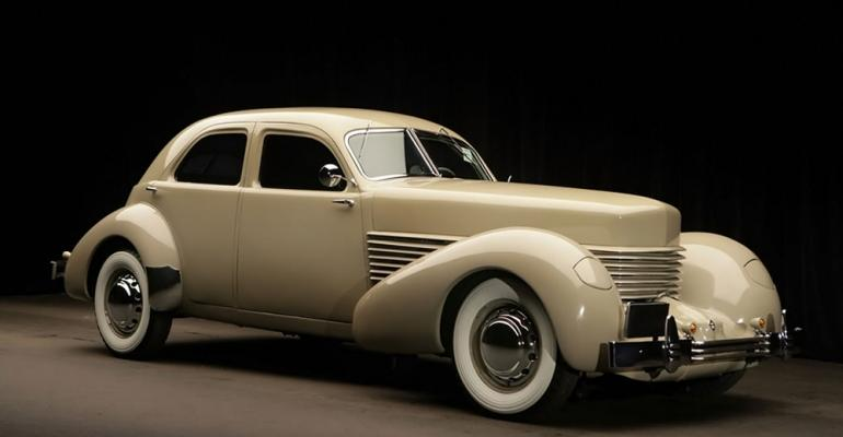 1937 Cord the last car Built by Cord Corp the American auto maker and aviation company
