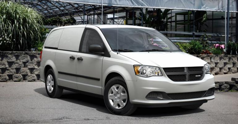 Ram CV small van Chryslerrsquos lowestselling vehicle