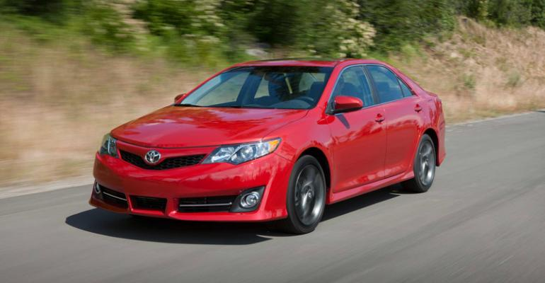 Camry topselling car in US in 2012
