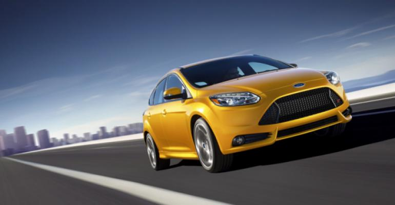 Focus ST buyers opting for highercost packages