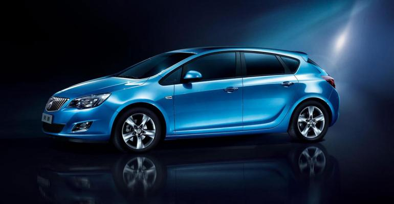 Buick Excelle top seller in January