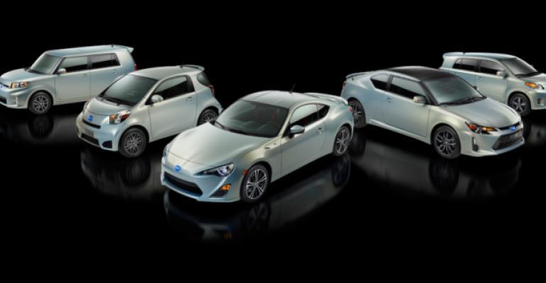 Anniversary edition Scion models to accompany new tC to market in 2013