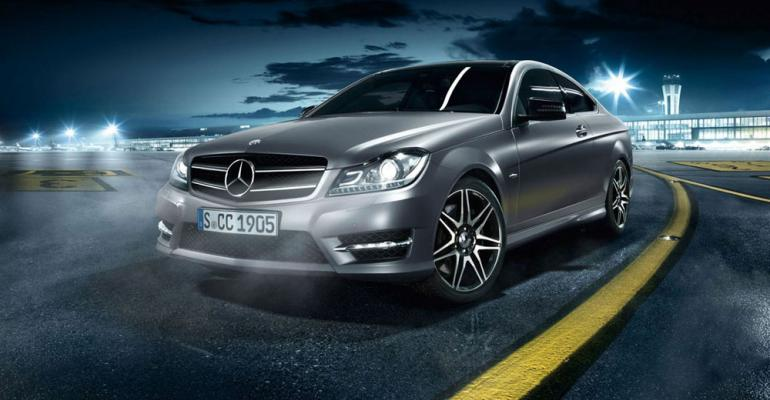 Mercedes CClass bestselling luxury model through March