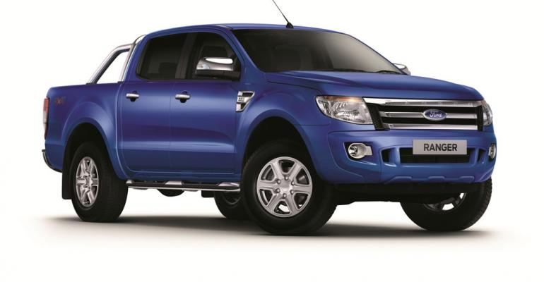 Ranger one of first Ford vehicles to be exported to Myanmar