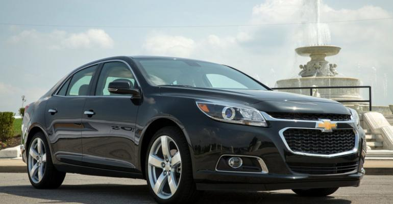 Refreshed Chevy Malibu includes updated front end