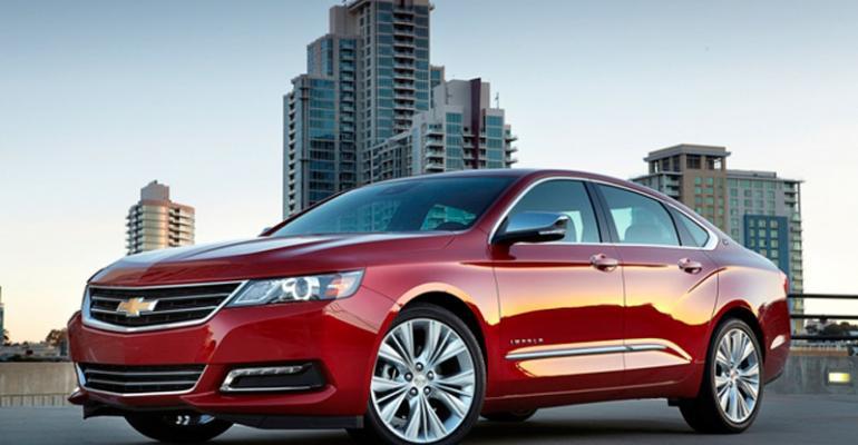 rsquo14 Chevy Impala likable large sedan