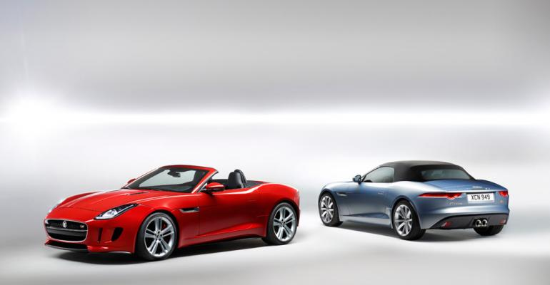 New Jaguar FType pays tribute to EType legacy especially with rear design