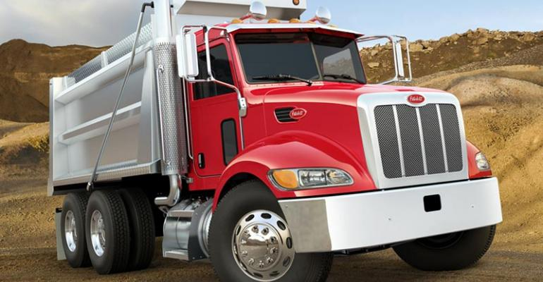 Peterbilt maker PACCAR up in Class 7