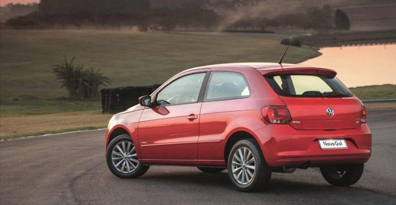 VW Gol Brazil39s bestselling car