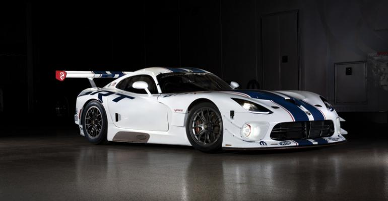 Viper GT3R specially tuned for 24hour race