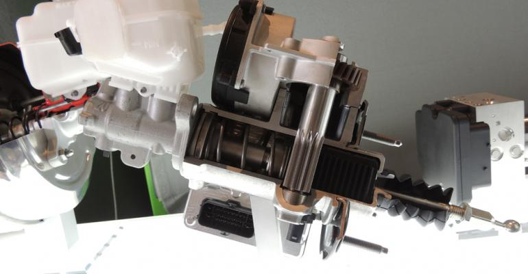 Boschrsquos motordriven iBooster intended to replace conventional vacuumbased brake boosters