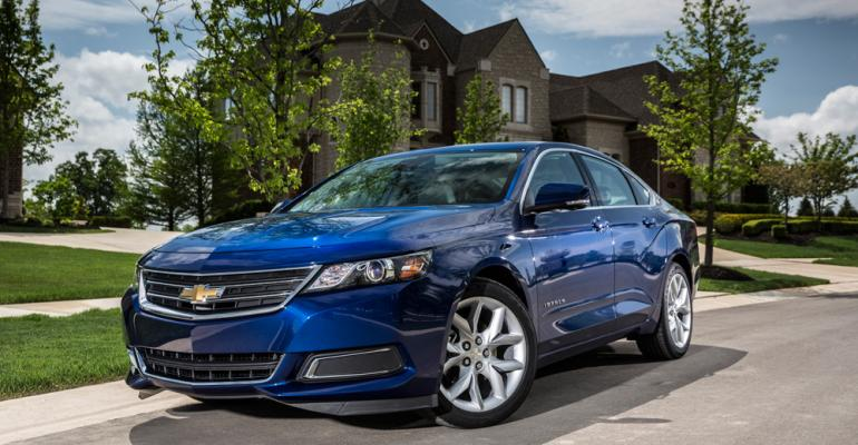 rsquo14 Chevy Impala with 25L direct injection and iVLC technology retains expressive exterior styling