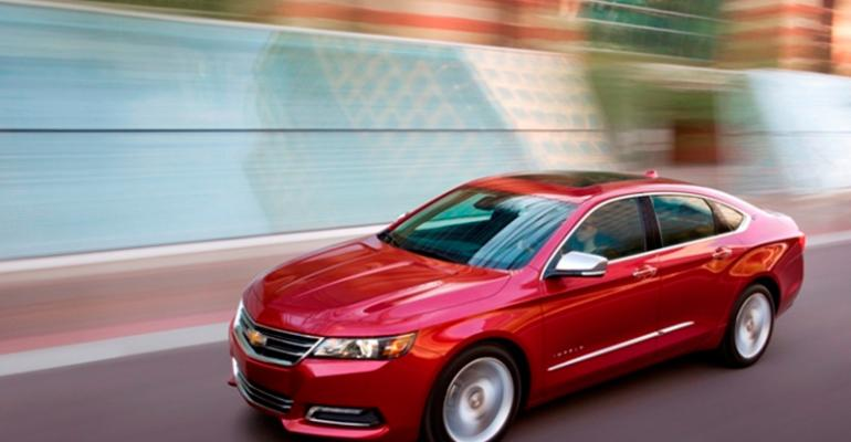 Chevy Impala success evidence of stronger GM leaderships says