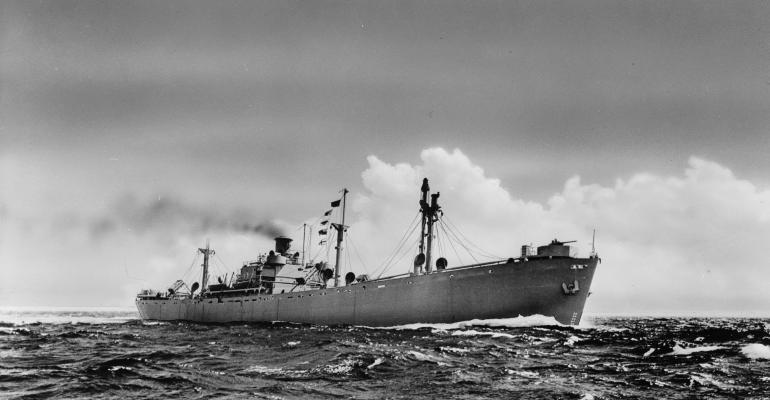 World War II Kaiserbuilt Liberty Ship