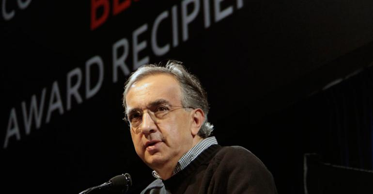 CEO Marchionne predicted IPO for later this year