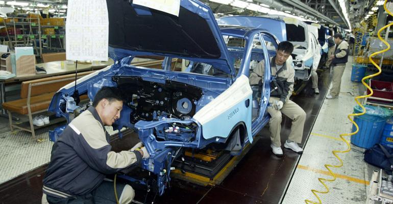 GM moving production of nextgeneration Chevrolet Cruze out of Korea