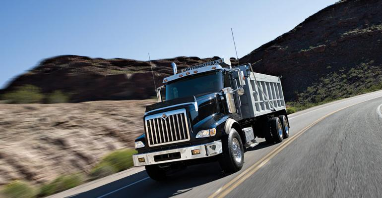 Orders strong for International PayStar with Cummins engine