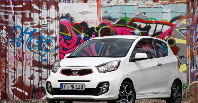 LPG Picanto capable of up to 42 mpg with optional stopstart system