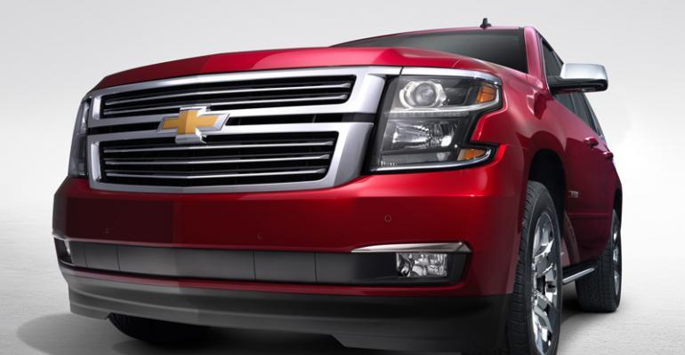 GMrsquos new large SUVs make bold statements
