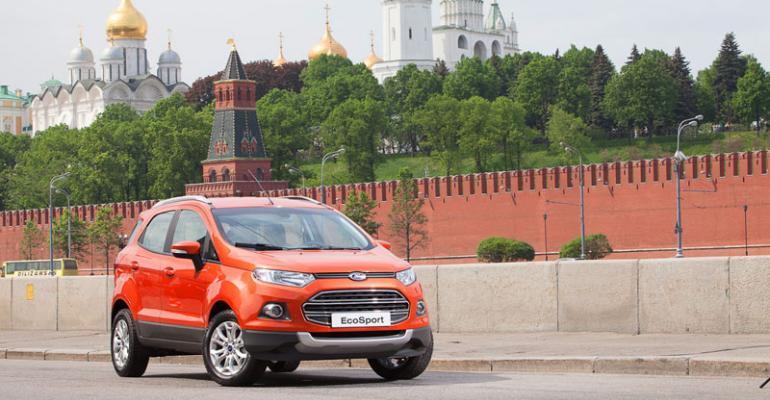 EcoSport to be built at Ford Sollersrsquo Naberezhnye Chelny Tartarstan plant