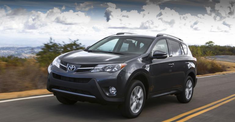 RAV4 powers Toyota lighttruck sales in October