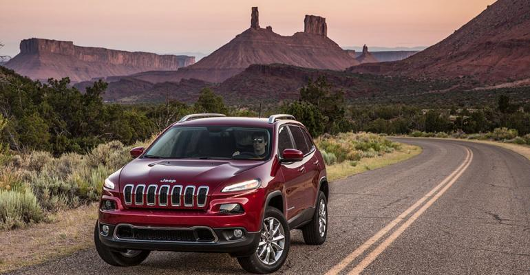 Trailhawk model plays up Cherokeersquos offroad prowess