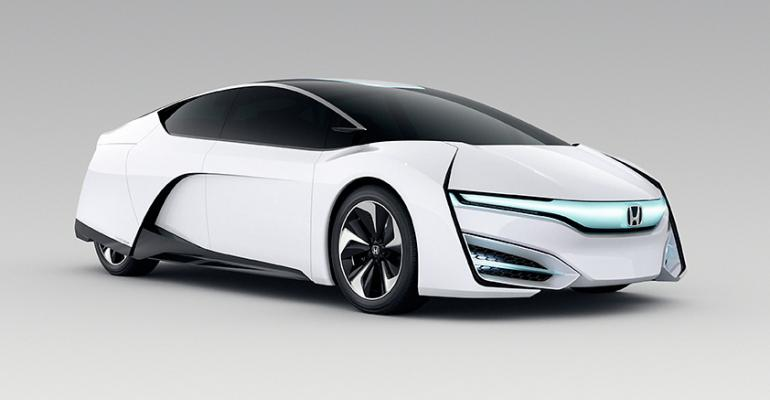 Honda FCEV Concept hints at 2015 production fuelcell model