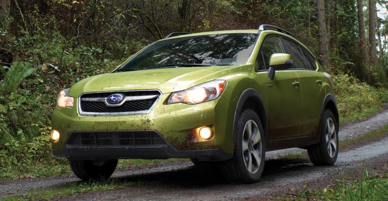 XV Crosstrek strong seller for Subaru in US