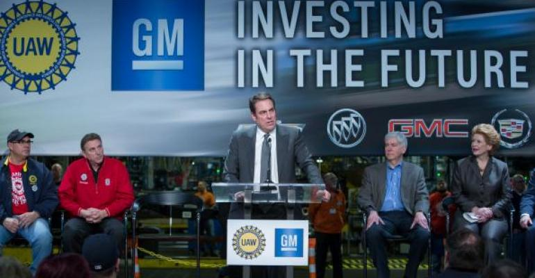 GMrsquos Flint MI assembly plant to receive new paint shop as part of 13 billion US investment