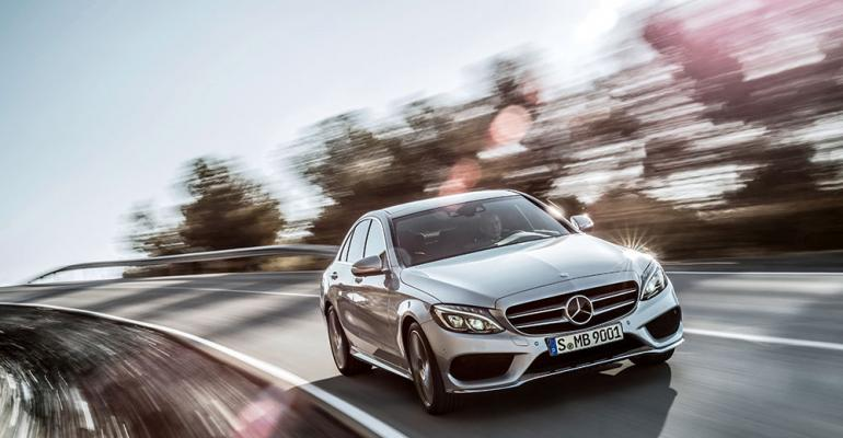 No longer entrylevel Mercedes new CClass considerable step up from predecessor