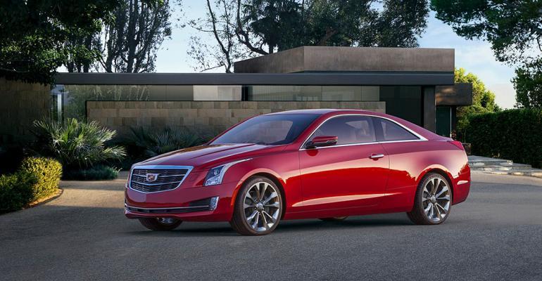 GM Introduces 'Light, Agile' Cadillac ATS Coupe | WardsAuto