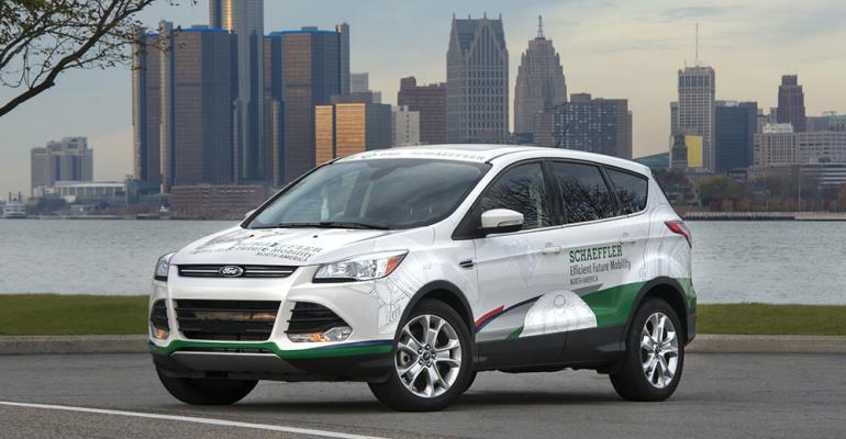 Schaeffler technologies help Ford Escape achieve 15 fueleconomy gain