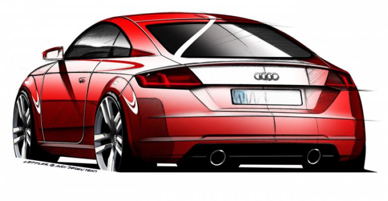 Audi Shows Sketch of Upcoming New-Gen TT