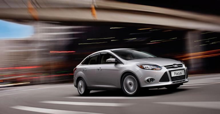 Ford Focus sales plummet 257 in January