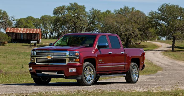 Interest in Silveradorsquos new V6 engine gaining GM says