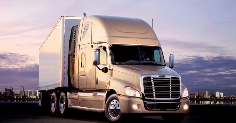 Freightliner Class 8 sales down 242