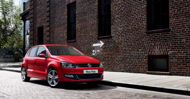 VW Polo combines reduced emissions market popularity