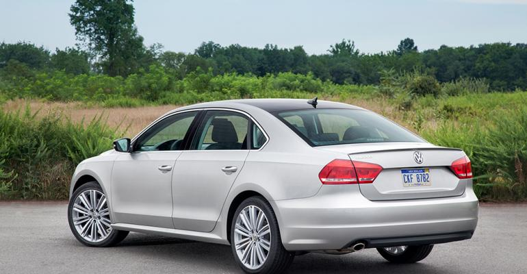 TDI engine accounted for 412 of Passat mix in March