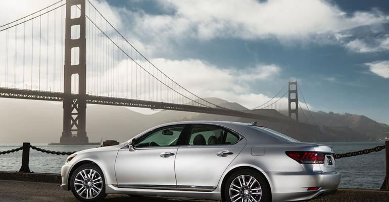 Lexus LS last allnew in rsquo07 and refreshed for rsquo13 pictured