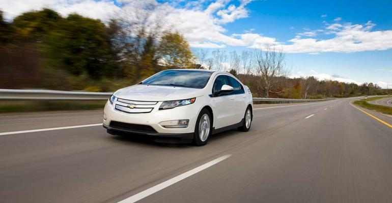 Chevy Volt owners take advantage of workplace charging