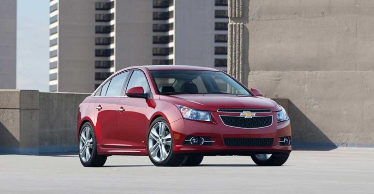 Chevy Cruze sales rise 353 in May