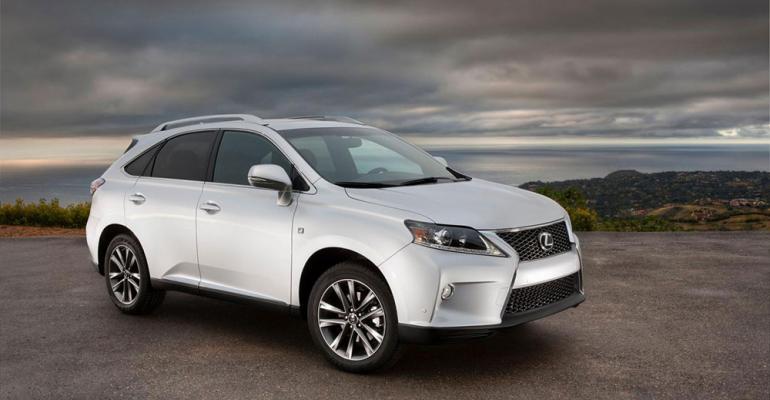 Lexus US sales led by RX up 171 through June
