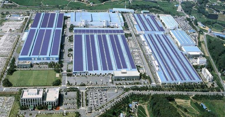 Third of Hyundairsquos total global volume emanates from Korean plants