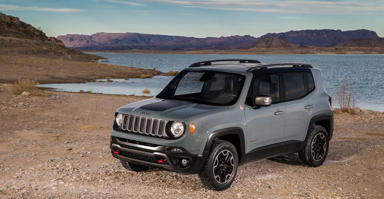 Renegade production for US begins in firstquarter 2015