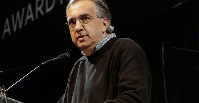Chrysler CEO Sergio Marchionne says US capacity expansion unlikely