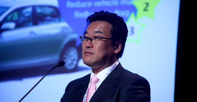 Toyotarsquos Takefumi Shiga